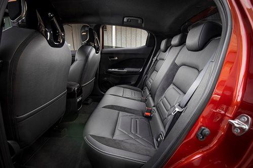 2020 Nissan Juke rear seats