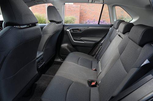 Toyota RAV 4 GX rear seat