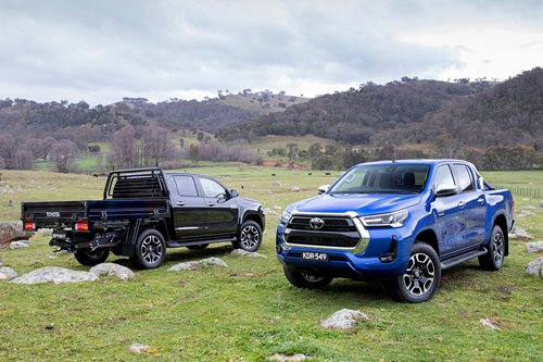 Toyuotas Hilux cab-chassis and pickup