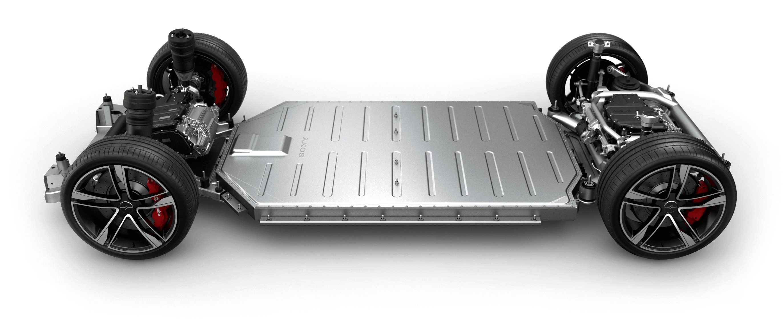 Electric vehicle platform 'skateboard'