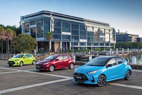 Toyota Yaris range