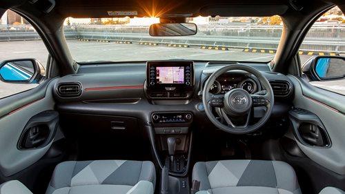 Yaris SX interior