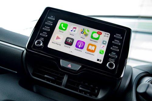 Toyota apple carplay andtroid auto