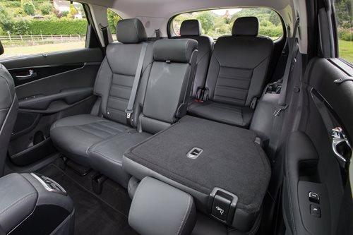 2018 Kia Sorento rear seats