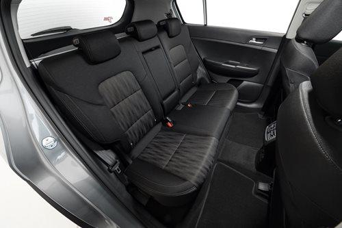 Kia Sportage S rear seats