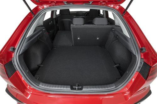 Kia Cerato hatch boot space