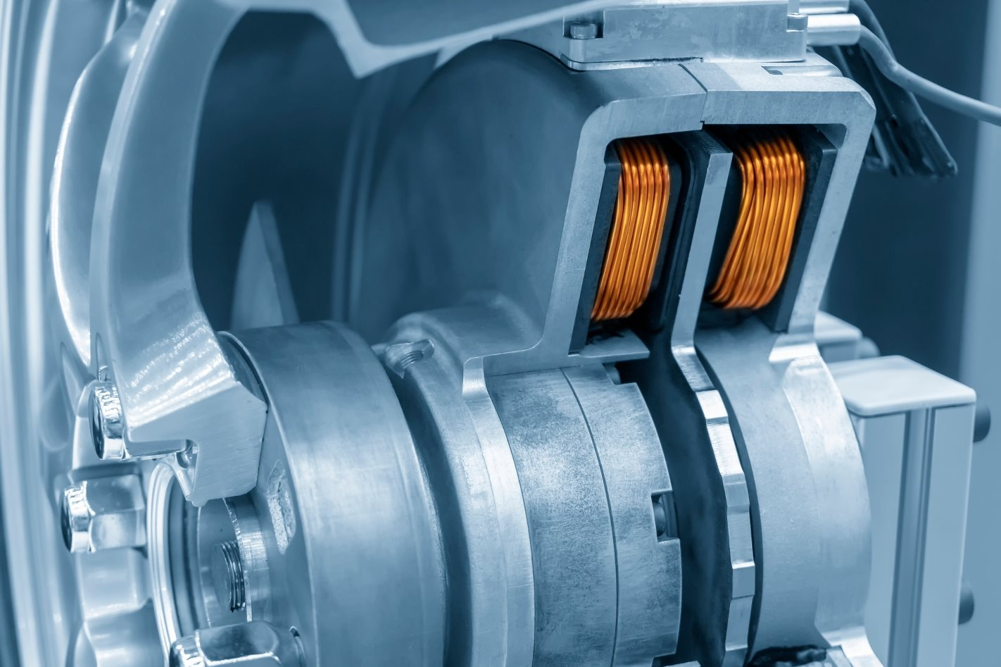 Hub motor EV