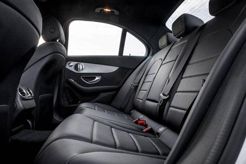 Mercedes C200 REAR SEATS