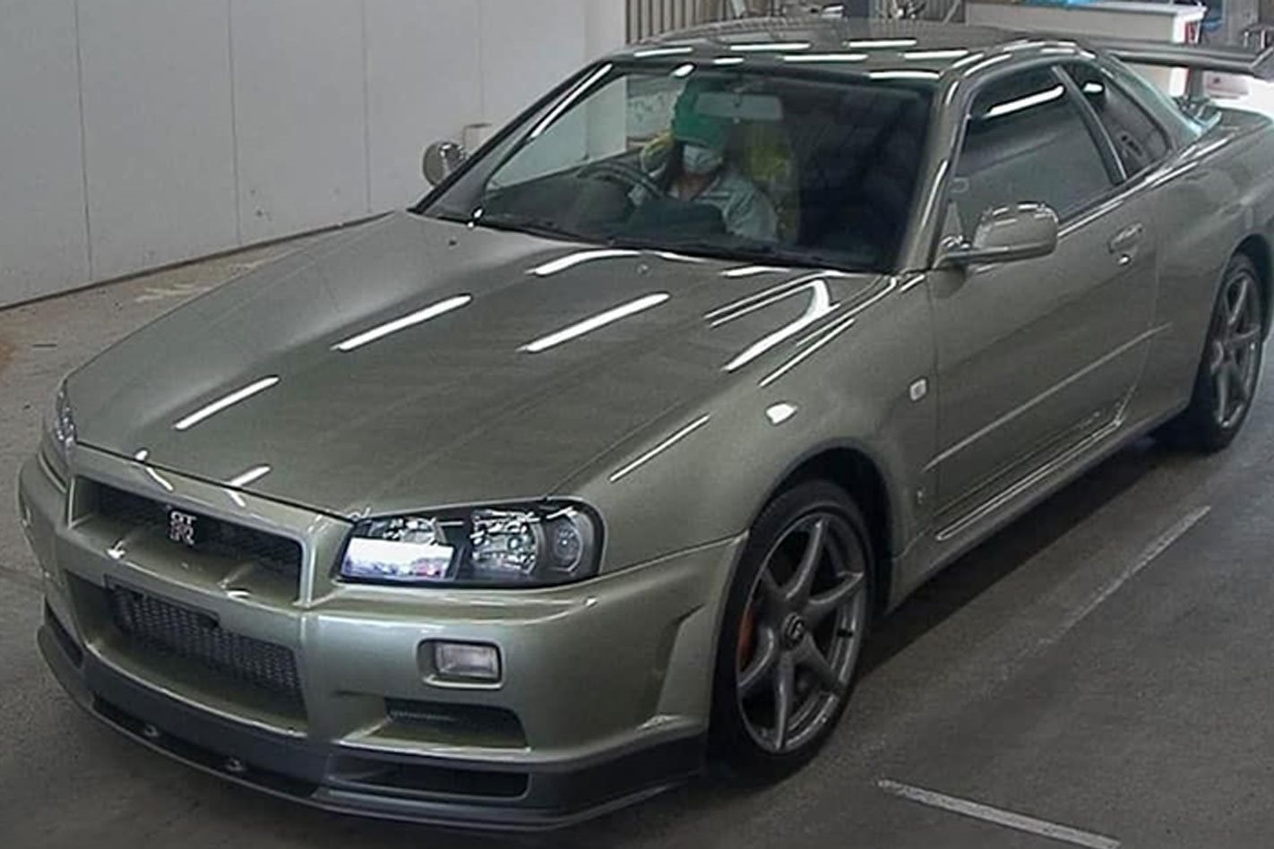 Nissan R34 Skyline Gt R Sells At Auction For Truly Stunning Price