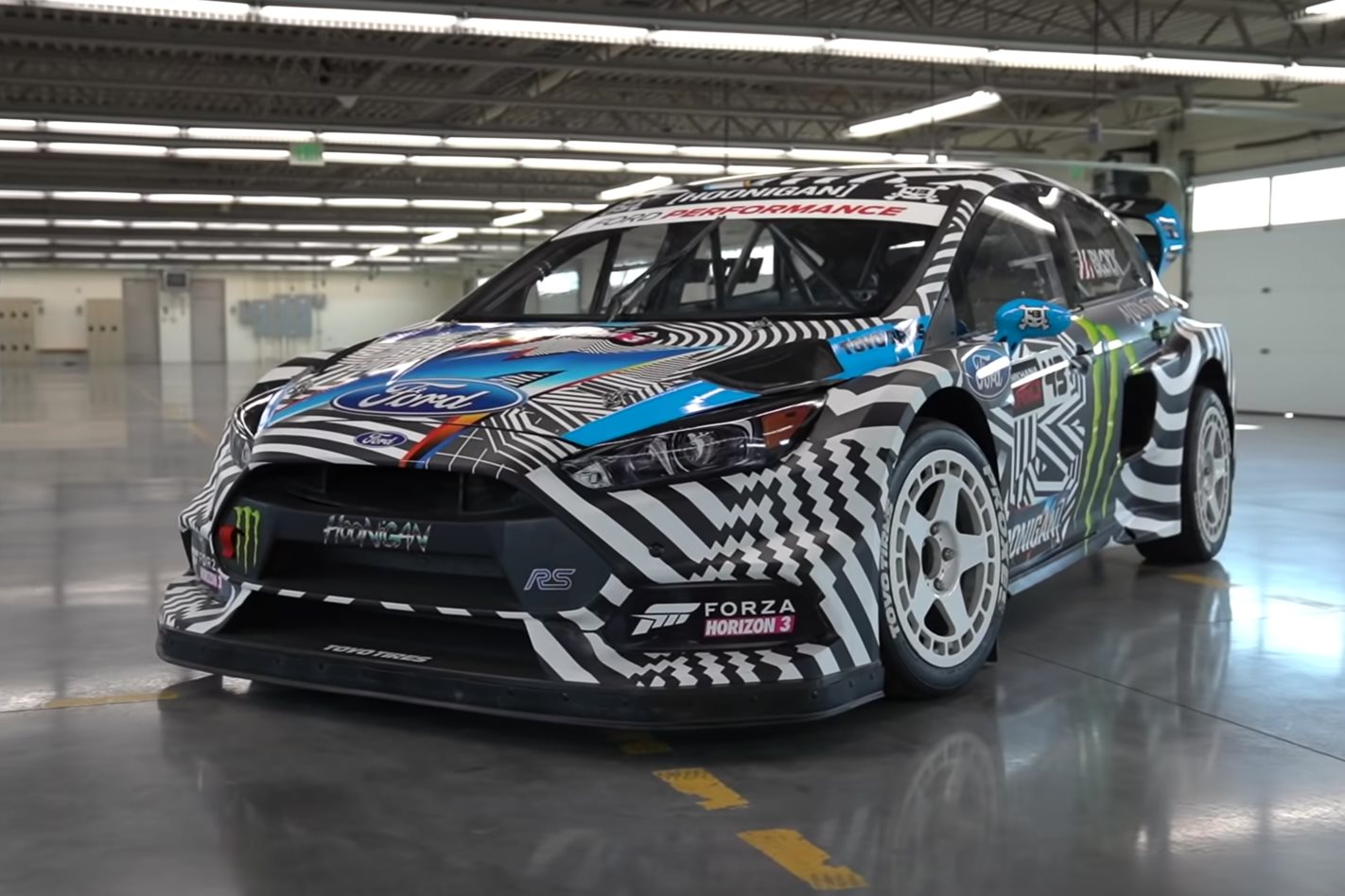 Ken Block S Ford Focus Gymkhana Car Is Coming To Australia