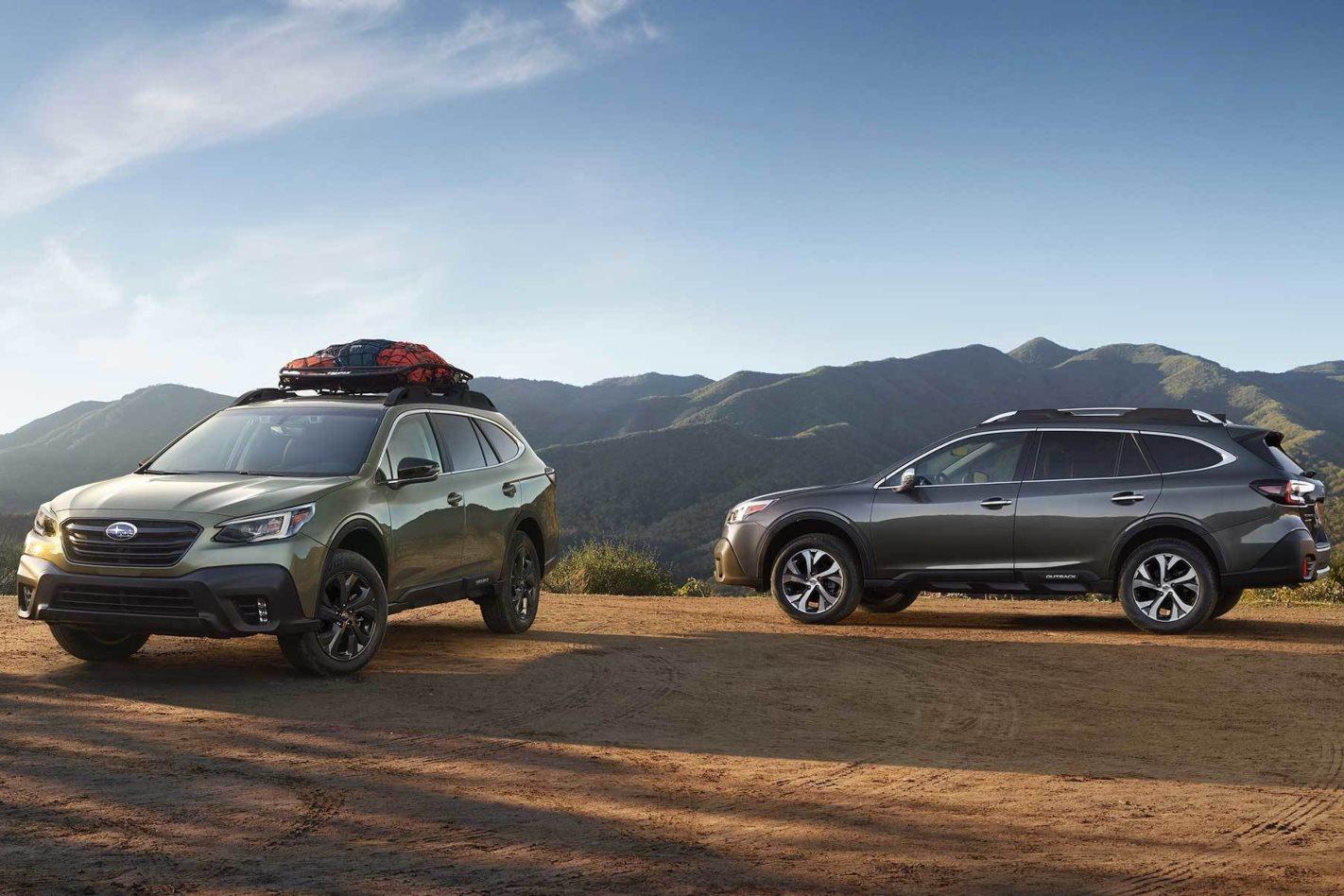 2021 Subaru Outback Availability Images