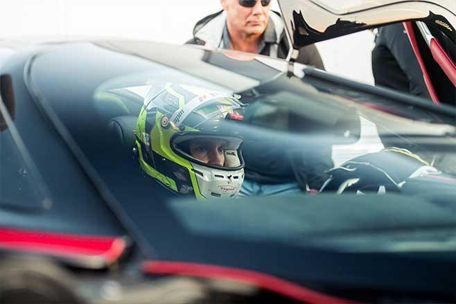 Professional racing driver Oliver James Webb.