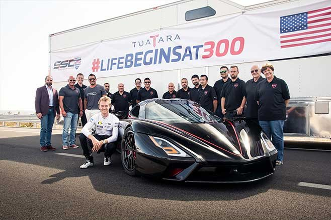 SSC Tuatura is the world's fastest car.