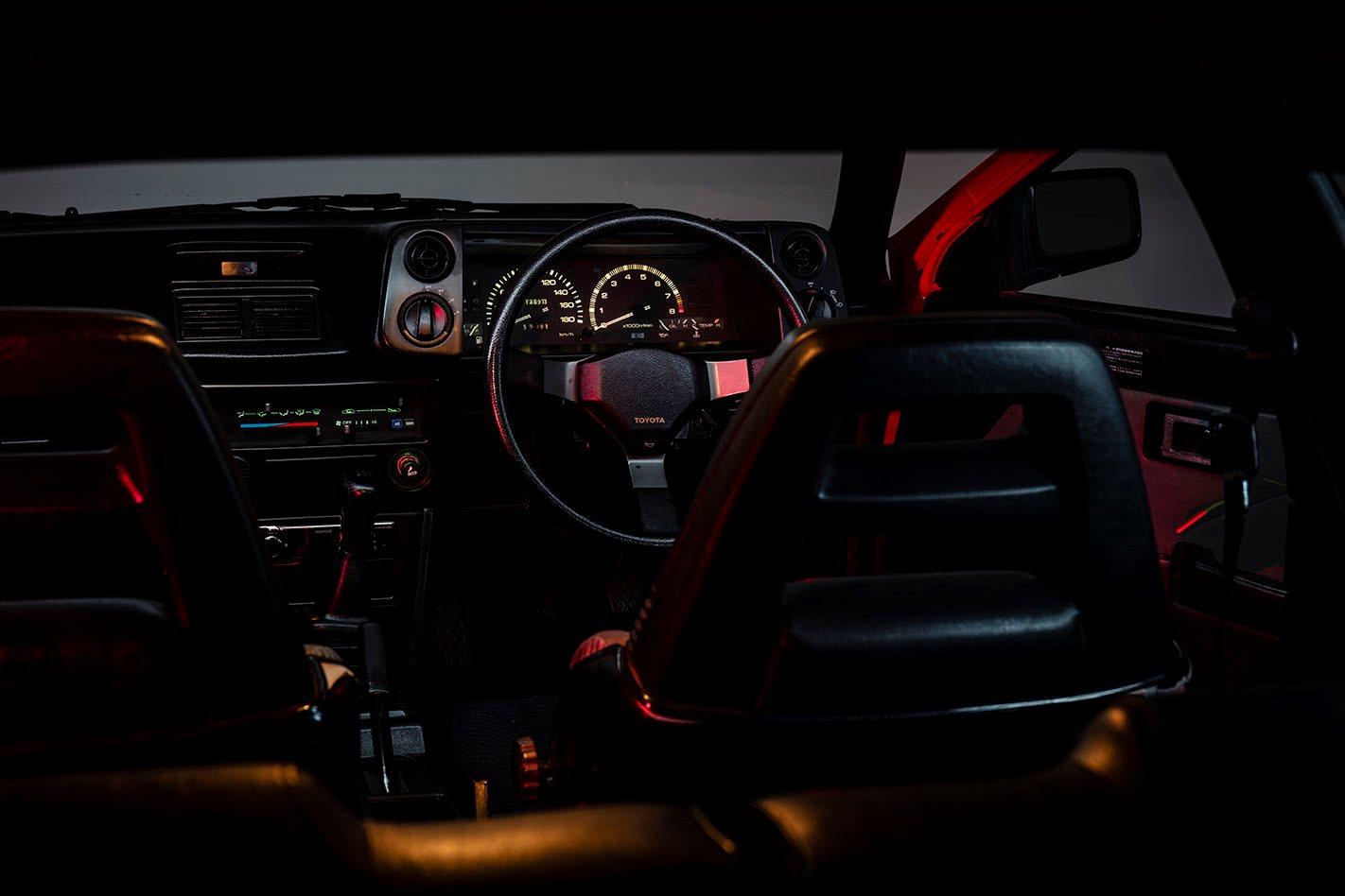 Toyota AE86 interior