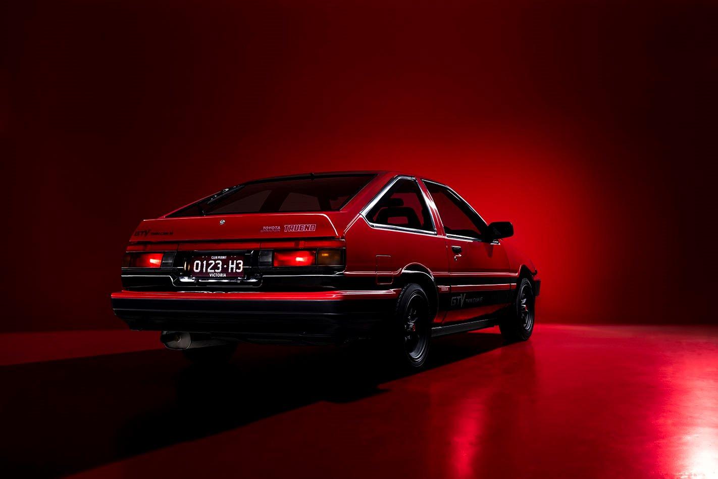 Toyota AE86 rear