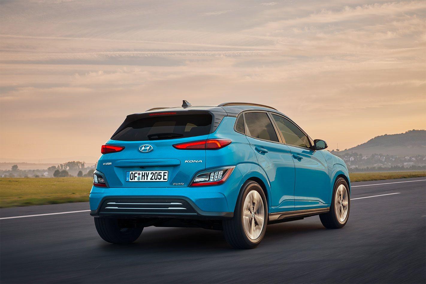 2021 Hyundai Kona Electric facelift revealed