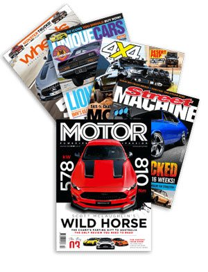 Subscribe to Australian car magazines