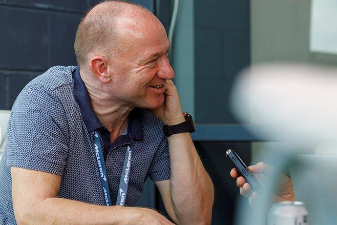 Mike Flewitt McLaren CEO