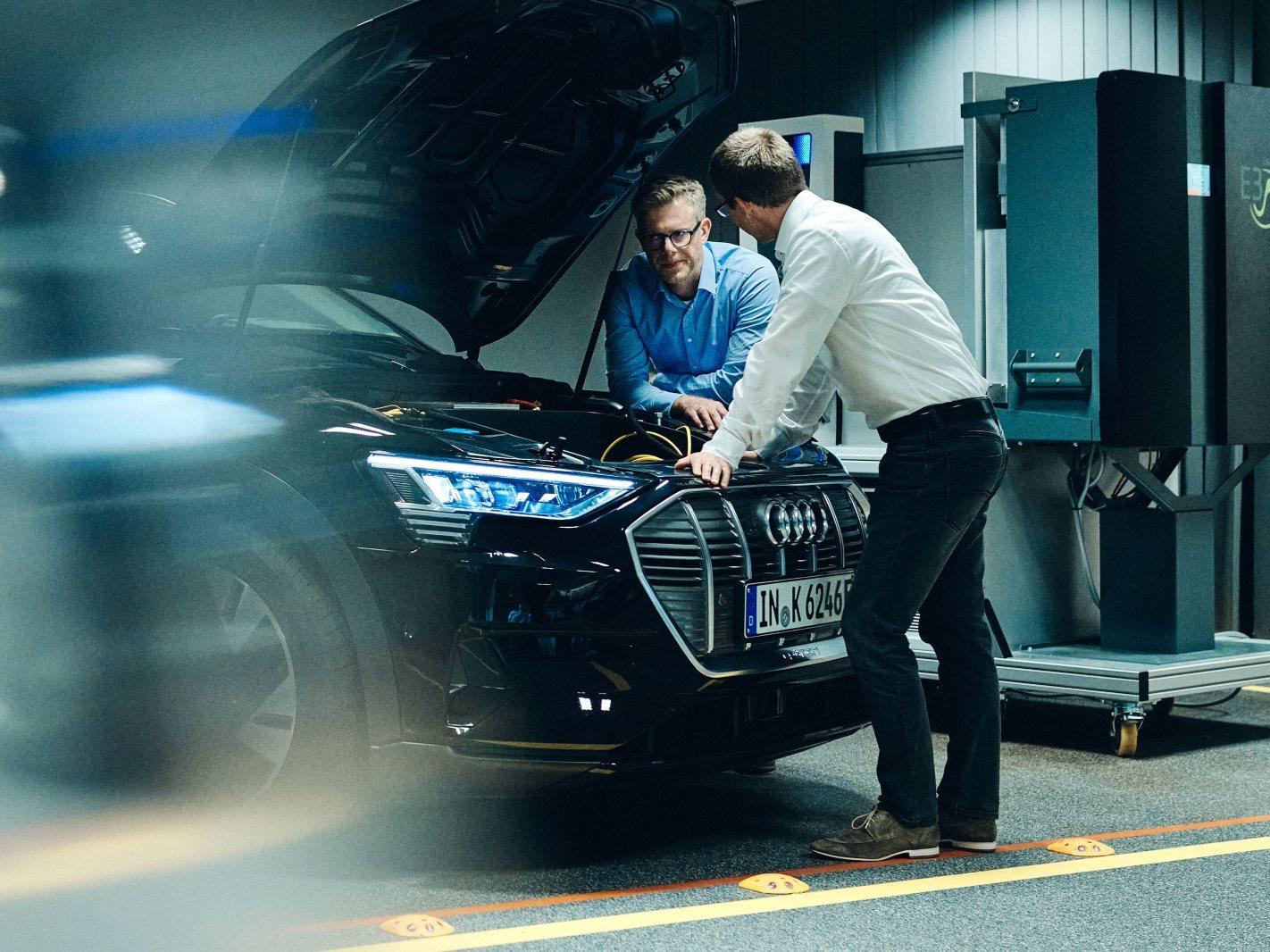 Audi electric car technology