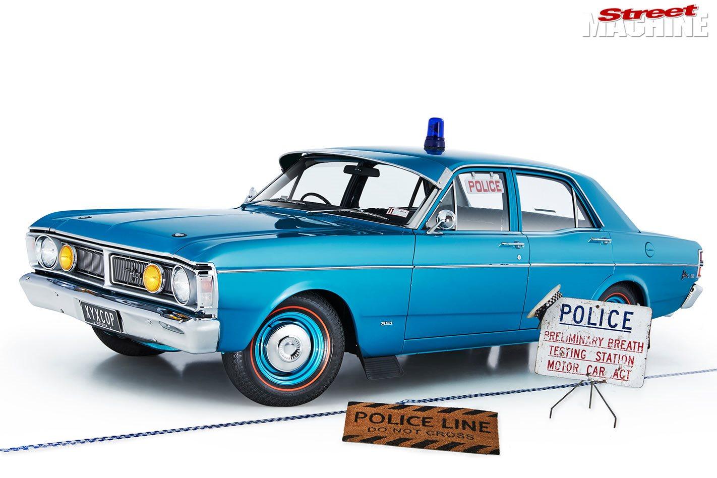 Ford XY Falcon police car