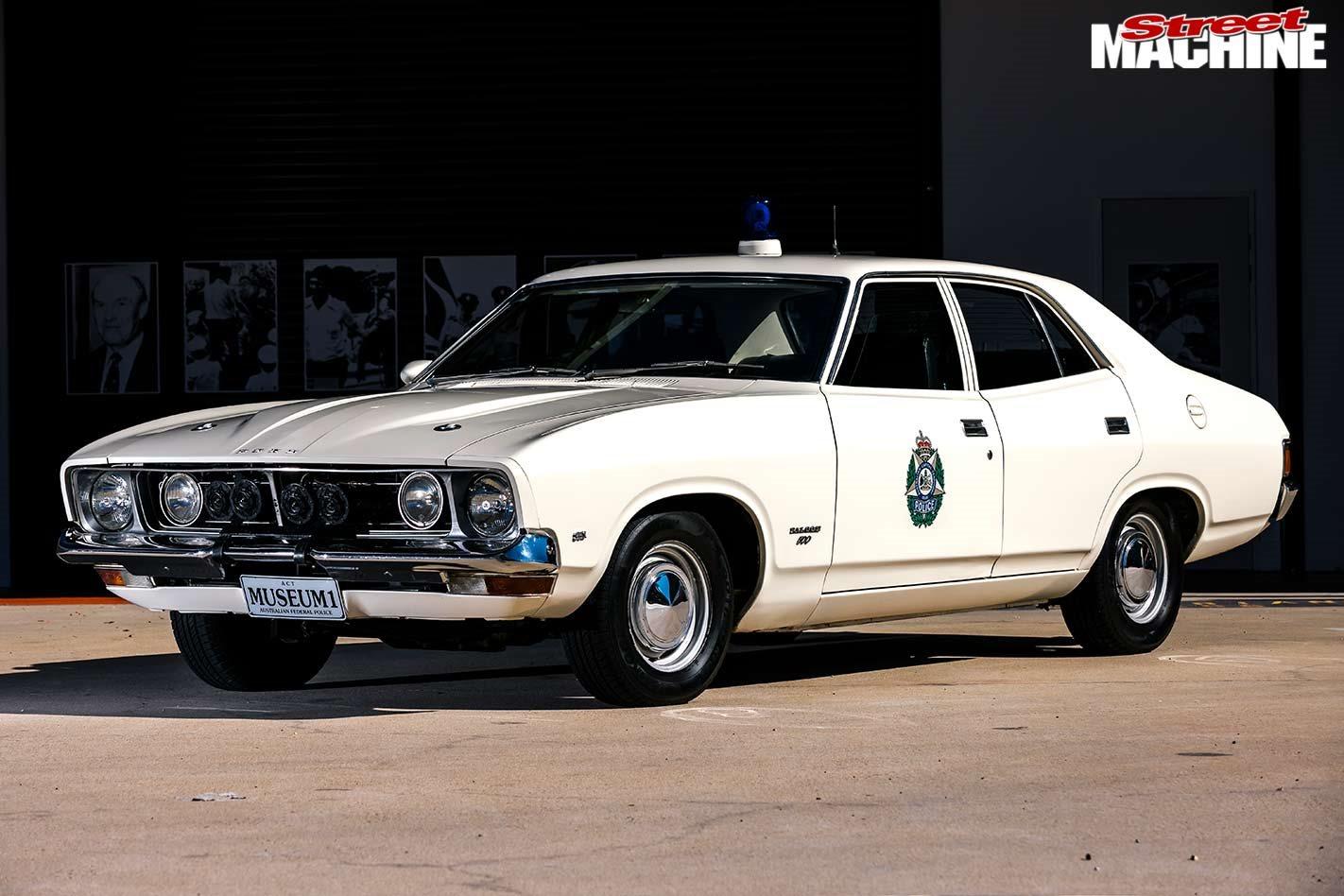 Ford XB Falcon police car