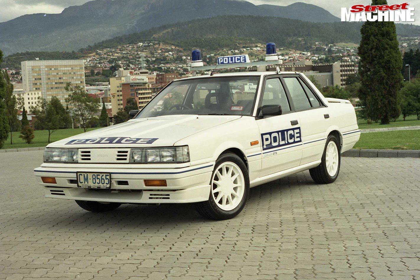 Nissan Skyline police car