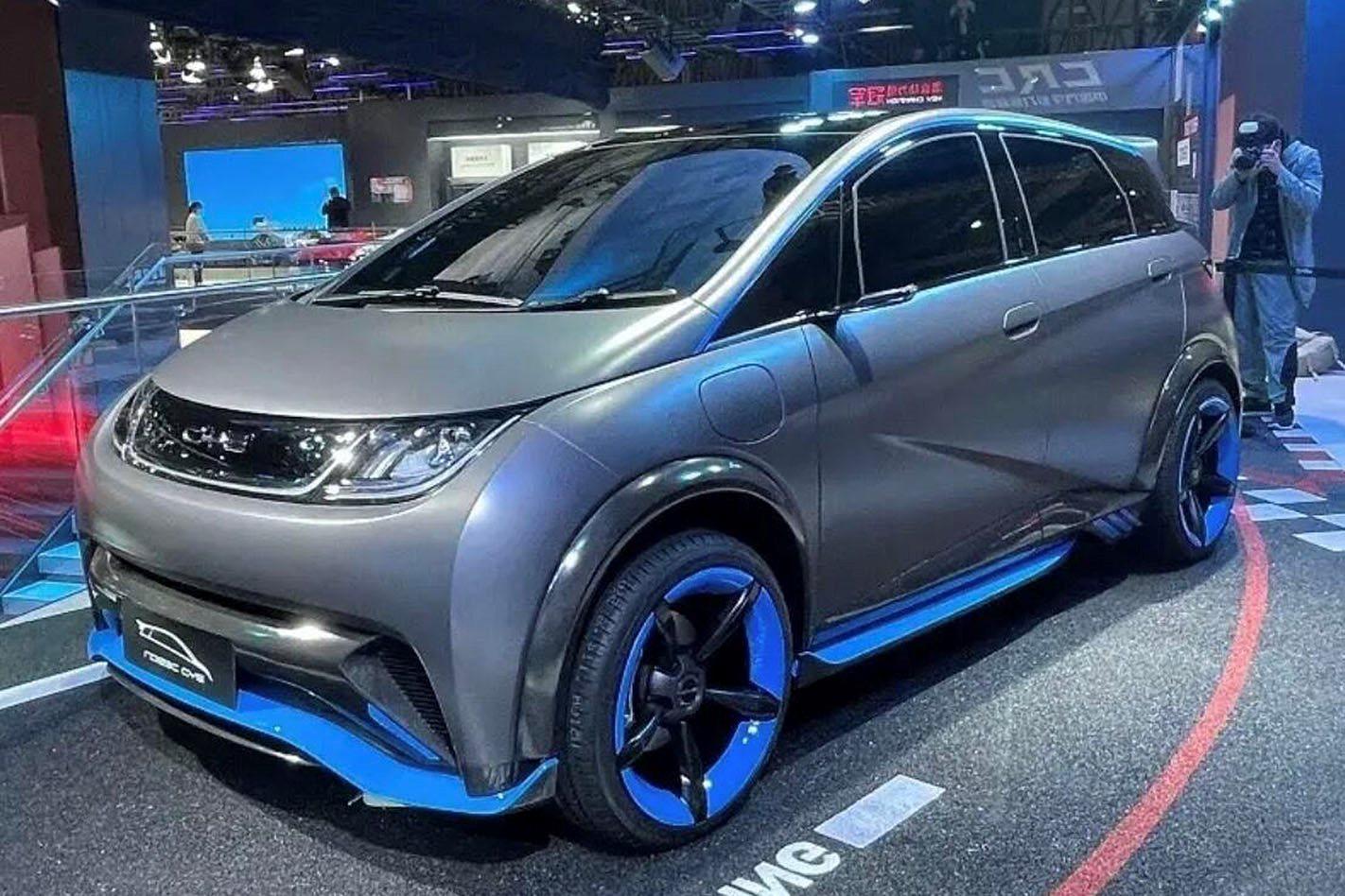 BYD EA1 diperkenalkan di Auto Shanghai 2021