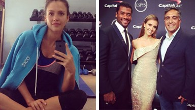 Jessica Alba shares her exercise tips and guilty pleasures