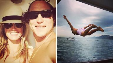 Heidi Klum shares holiday snap with boyfriend Vito