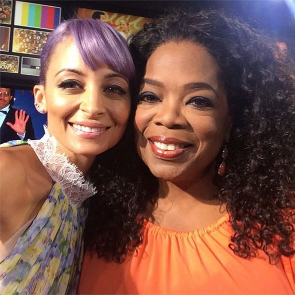 Nicole Richie sits down with Oprah Winfrey