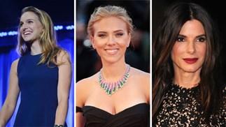 Natalie Portman, Scarlett Johansson, Sandra Bullock