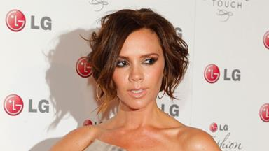 Victoria Beckham gives away clothing for charity