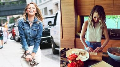 Chrissy Teigen's healthy cooking tips