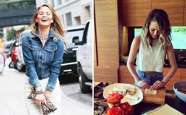 Chrissy Teigen's healthy cooking tips