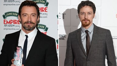 Hugh Jackman spoofs his X-Men costar James McAvoy