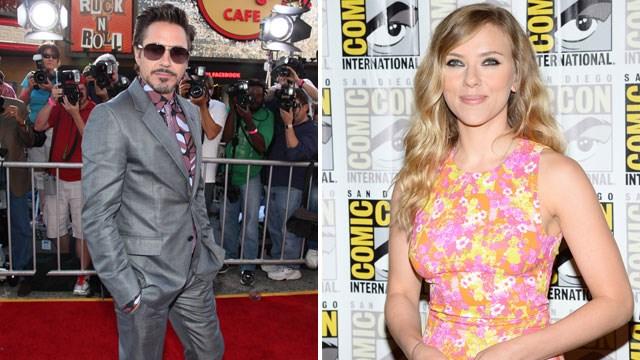 Robert Downey Jr, Scarlett Johansson