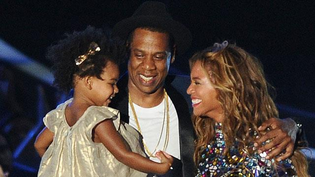 Blue Ivy, Jay-Z, Beyonce. Is beyonce pregnant with second child?