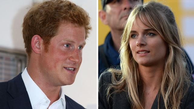 Prince Harry and Cressida Bonas
