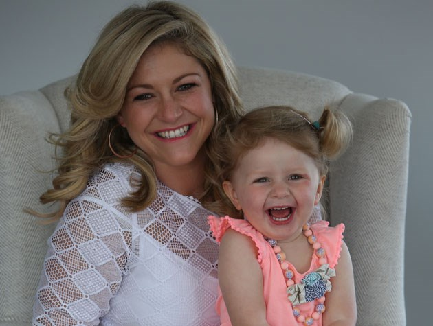 Toni and her gorgeous daughter Juliette, who is almost two years old.