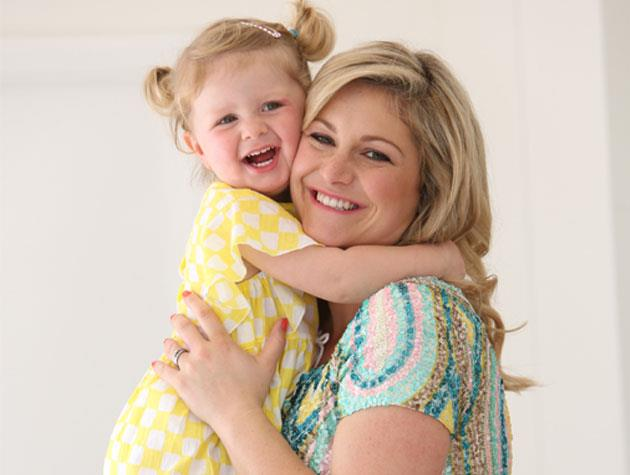 Juliette is a natural in front of the camera, just like her gorgeous mum!