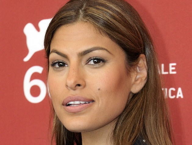 Eva Mendes swears by a shimmery bronzer - she even adds it into her moisturiser for an all-over natural tan. Image: Nicolas Genin
