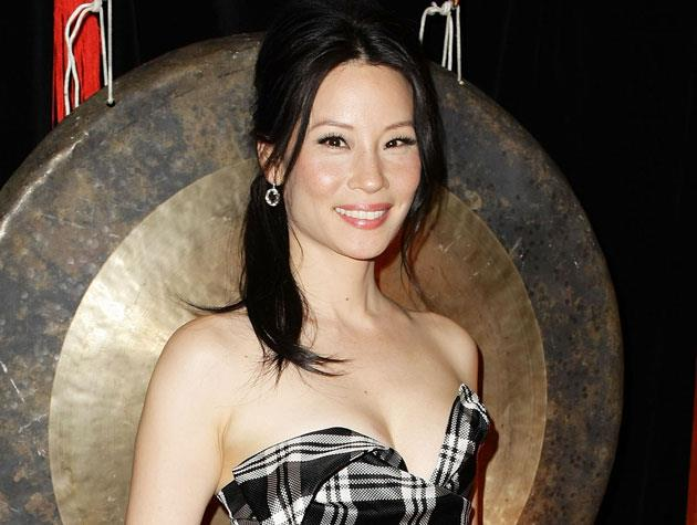 "Actress Lucy Liu says she feels her most beautiful when she's been ""exercising and eating well"" - and a good mascara never hurts either!"