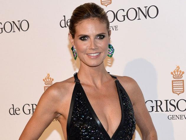 "German supermodel Heidi Klum admits she's too scared of plastic surgery to ever have it. ""I would have a hard time looking in the mirror and seeing something that I'm not used to seeing. I'd be afraid!"" she told *Access Hollywood*. Image: Michael Buckner"