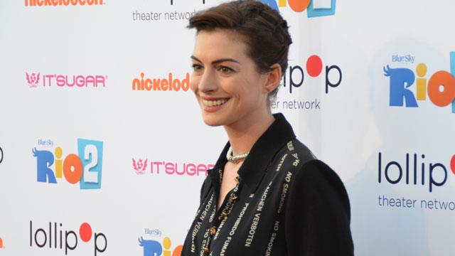 Anne Hathaway on dealing with haters