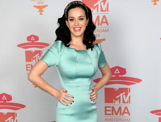 Katy Perry is a fan of vitamins and supplements, even posting a picture with her stash on Twitter last year. She's also rumoured to be on the 'M diet', which works by substituting one meal per day with a dish based on mushrooms. Image: Getty