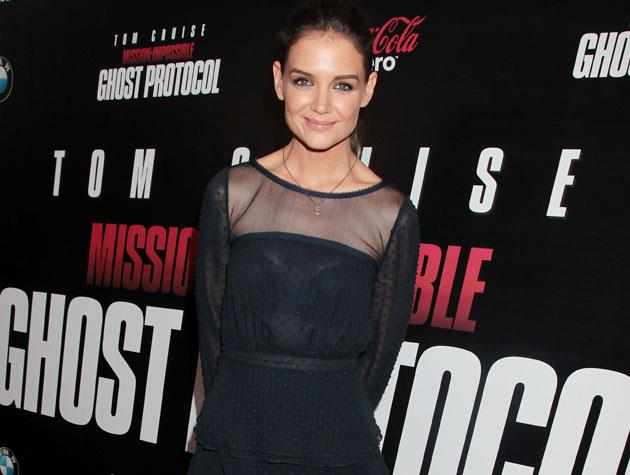 Katie Holmes reportedly sticks to plenty of vegetables to stay slim - something that most nutritionists would agree with! Image: Getty