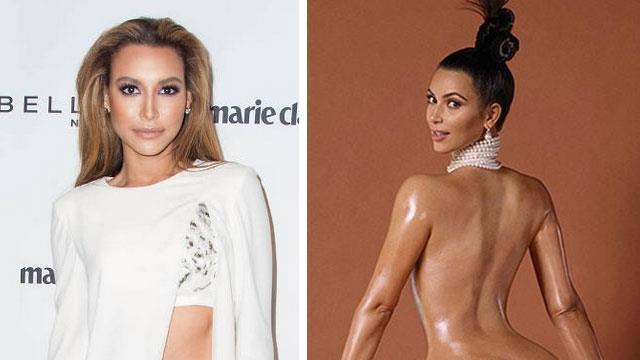 Naya Rivera slams Kim Kardashian for nude cover