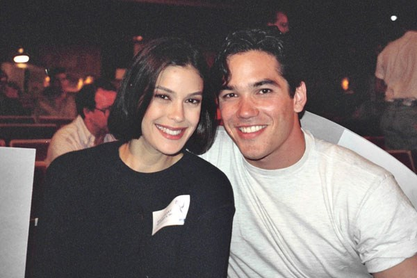 Dean (pictured with his Lois Clark costar Teri Hatcher) dated Brooke while they were at Princeton.