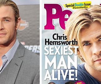 Chris Hemsworth named sexiest man alive