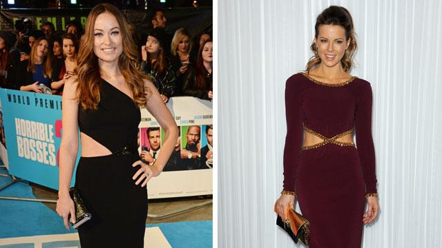 Celebrity trend: The cut-out dress